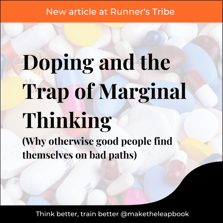 Article title: Doping and the Trap of Marginal Thinking